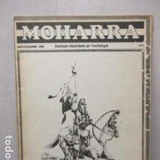 Militaria: REVISTA MOHARRA - INSTITUTO MADRIÑEÑO DE VEXIOLOGIA - Nº 2 - SEPTIEMBRE 1986. Lote 162417394