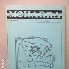 Militaria: REVISTA MOHARRA - INSTITUTO MADRIÑEÑO DE VEXIOLOGIA - Nº 5 - SEPTIEMBRE 1987. Lote 162417518