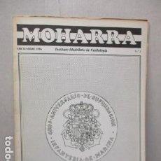 Militaria: REVISTA MOHARRA - INSTITUTO MADRIÑEÑO DE VEXIOLOGIA - Nº 3 - DICIEMBRE 1986. Lote 162417802