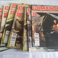 Militaria: COMANDO TÉCNICAS DE COMBATE Y SUPERVIVENCIA, AÑO 1986. Lote 162557709