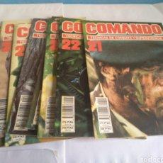 Militaria: COMANDO TÉCNICAS DE COMBATE Y SUPERVIVENCIA, AÑO 1986. Lote 162558389