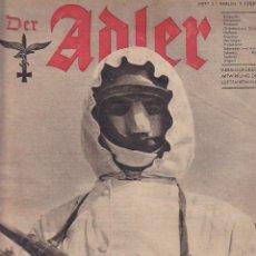 Militaria: REVISTA DER ADLER 9 FEBRERO 1943 . Lote 163681558