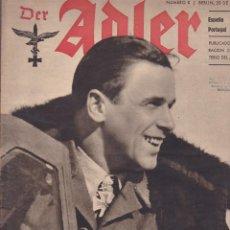 Militaria: REVISTA DER ADLER 20 FEBRERO 1943 . Lote 163681870