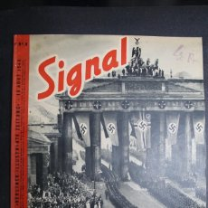 Militaria: REVISTA SIGNAL Nº 9 AÑO 1940 IDIOMA FRANCES. Lote 163726626
