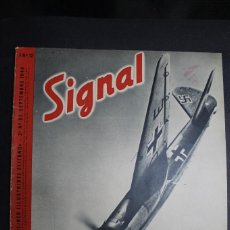 Militaria: REVISTA SIGNAL Nº 12 AÑO 1940 IDIOMA FRANCES. Lote 163727542