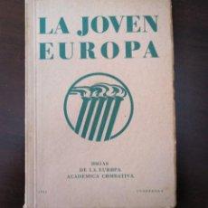 Militaria: LA JOVEN EUROPA. REVISTA ALEMANA PARA JÓVENES COMBATIENTES EUROPEOS. 2ª. GUERRA MUNDIAL.. Lote 163763726