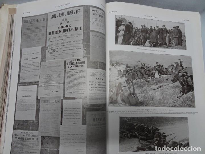 Militaria: ANTIGUO TOMO SOBRE 1ª Y 2ª GUERRA MUNDIAL ,CON PERIÓDICOS Y REVISTAS DE LA ÉPOCA, VER FOTOS - Foto 10 - 164654102