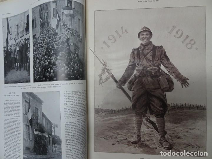 Militaria: ANTIGUO TOMO SOBRE 1ª Y 2ª GUERRA MUNDIAL ,CON PERIÓDICOS Y REVISTAS DE LA ÉPOCA, VER FOTOS - Foto 19 - 164654102