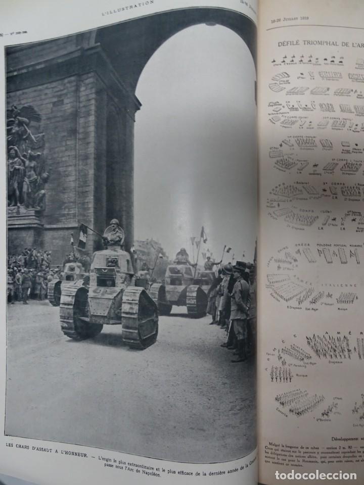 Militaria: ANTIGUO TOMO SOBRE 1ª Y 2ª GUERRA MUNDIAL ,CON PERIÓDICOS Y REVISTAS DE LA ÉPOCA, VER FOTOS - Foto 21 - 164654102
