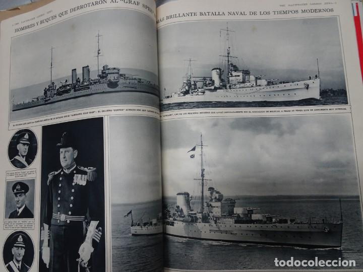 Militaria: ANTIGUO TOMO SOBRE 1ª Y 2ª GUERRA MUNDIAL ,CON PERIÓDICOS Y REVISTAS DE LA ÉPOCA, VER FOTOS - Foto 28 - 164654102