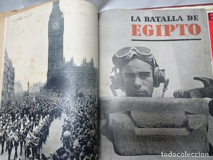 Militaria: ANTIGUO TOMO SOBRE 1ª Y 2ª GUERRA MUNDIAL ,CON PERIÓDICOS Y REVISTAS DE LA ÉPOCA, VER FOTOS - Foto 29 - 164654102