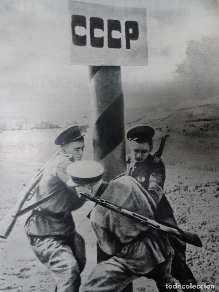 Militaria: ANTIGUO TOMO SOBRE 1ª Y 2ª GUERRA MUNDIAL ,CON PERIÓDICOS Y REVISTAS DE LA ÉPOCA, VER FOTOS - Foto 51 - 164654102