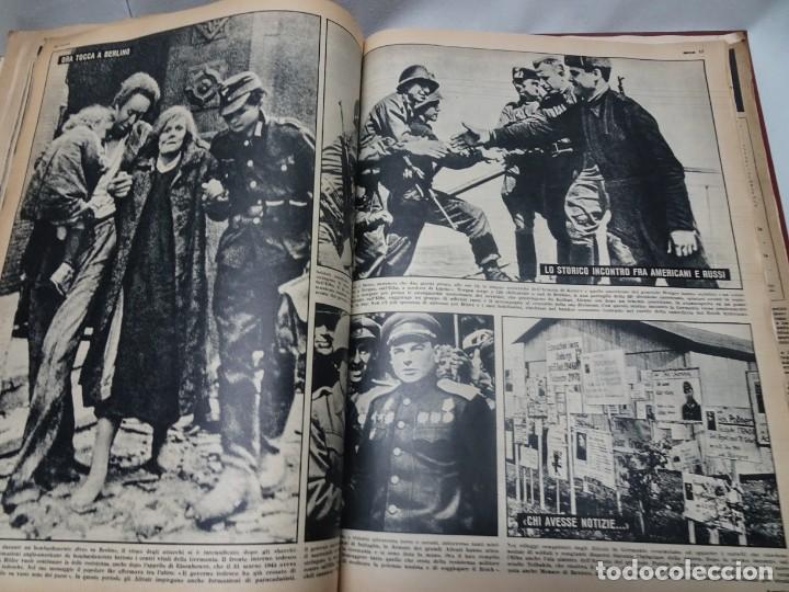 Militaria: ANTIGUO TOMO SOBRE 1ª Y 2ª GUERRA MUNDIAL ,CON PERIÓDICOS Y REVISTAS DE LA ÉPOCA, VER FOTOS - Foto 56 - 164654102