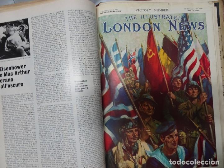 Militaria: ANTIGUO TOMO SOBRE 1ª Y 2ª GUERRA MUNDIAL ,CON PERIÓDICOS Y REVISTAS DE LA ÉPOCA, VER FOTOS - Foto 58 - 164654102