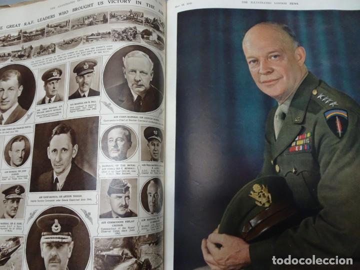 Militaria: ANTIGUO TOMO SOBRE 1ª Y 2ª GUERRA MUNDIAL ,CON PERIÓDICOS Y REVISTAS DE LA ÉPOCA, VER FOTOS - Foto 60 - 164654102
