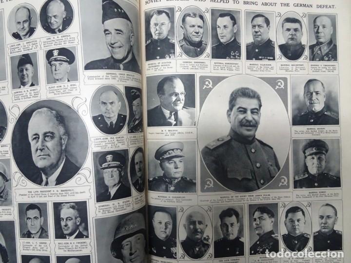 Militaria: ANTIGUO TOMO SOBRE 1ª Y 2ª GUERRA MUNDIAL ,CON PERIÓDICOS Y REVISTAS DE LA ÉPOCA, VER FOTOS - Foto 64 - 164654102