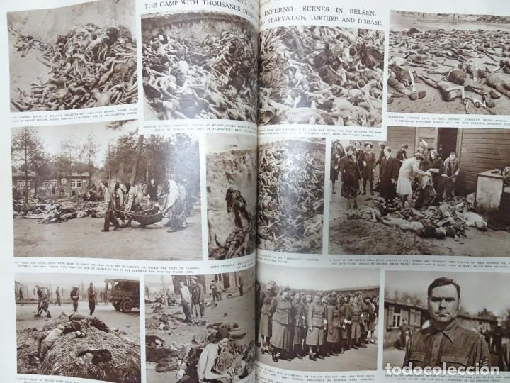 Militaria: ANTIGUO TOMO SOBRE 1ª Y 2ª GUERRA MUNDIAL ,CON PERIÓDICOS Y REVISTAS DE LA ÉPOCA, VER FOTOS - Foto 67 - 164654102
