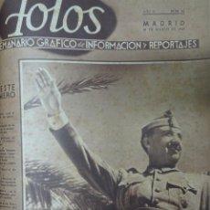 Militaria: ANTIGUO TOMO SOBRE LA GUERRA CIVIL ESPAÑOLA , CON PERIÓDICOS Y REVISTAS ORIGINALES, VER FOTOS. Lote 164660806