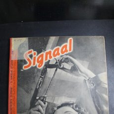 Militaria: REVISTA SIGNAL Nº 2 AÑO 1941 IDIOMA HOLANDES. Lote 164811882