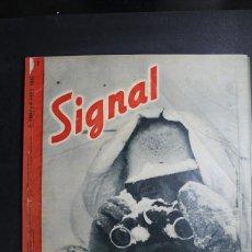 Militaria: REVISTA SIGNAL Nº 2 AÑO 1943 IDIOMA ALEMAN. Lote 164812254