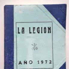 Militaria: REVISTA LA LEGIÓN AÑO COMPLETO DE 1972 ENCUADERNADO - MUY BUEN ESTADO. Lote 164950702