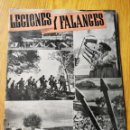 Militaria: REVISTA LEGIONES Y FALANGES (REVISTA HISPANO-ITALIANA)- AÑO 1, N°10, AGOSTO 1941.. Lote 165652329