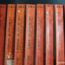 Militaria: REVISTA SIGNAL AÑO 1941 COMPLETO LAS 23 REVISTAS. Lote 165769842