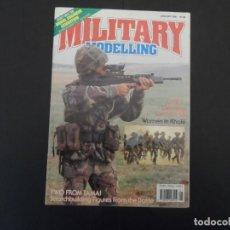 Militaria: REVISTA MILITAR MODELLING . WOMEN IN KHAKI. JANNUATY 1990. Lote 165877254