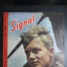 Militaria: REVISTA SIGNAL Nº 6 AÑO 1944 IDIOMA ESPAÑOL. Lote 166011454