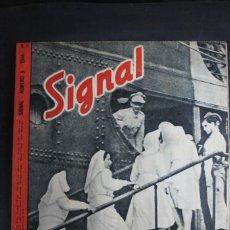 Militaria: REVISTA SIGNAL Nº 6 AÑO 1944 IDIOMA FRANCES. Lote 166012010