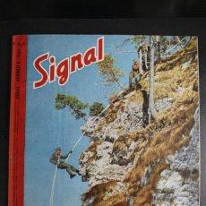 Militaria: REVISTA SIGNAL Nº 8 AÑO 1944 IDIOMA HOLANDES. Lote 166013686