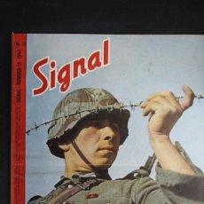 Militaria: REVISTA SIGNAL Nº 13 AÑO 1944 IDIOMA HOLANDES. Lote 166017366