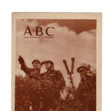 Militaria: ABC DIARIO REPÚBLICANO DE IZQUIERDAS . 30.MARZO. 1937. Lote 166415902