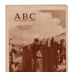 Militaria: ABC DIARIO REPÚBLICANO DE IZQUIERDAS . 4.4.1937. Lote 166420774