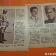 Militaria: ARTICULO 1957 - CAIDOS Y CONDECORADOS EN OPERACIONES EN IFNI - 3 PAGINAS. Lote 166662492