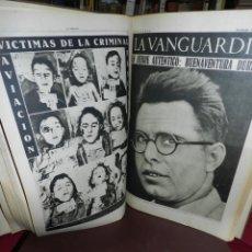 Militaria: (M) GRAN LOTE LA VANGUARDIA 1936 AL 1939 GUERRA CIVIL ESPAÑOLA, VER DESCRIPCION.. Lote 166931284