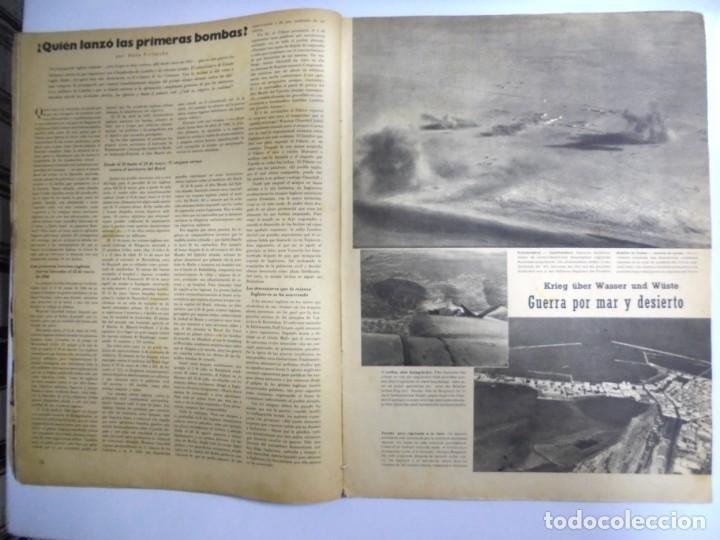 Militaria: REVISTA MILITAR SIGNAL. 1er. NUMERO DE ABRIL DE 1941. - Foto 2 - 167926476