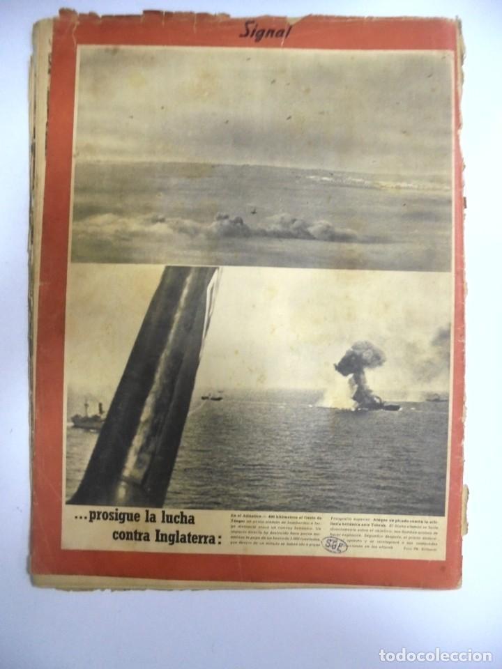 Militaria: REVISTA MILITAR SIGNAL. 1er. NUMERO DE AGOSTO DE 1941. Nº 15. - Foto 3 - 167928620