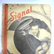 Militaria: REVISTA MILITAR SIGNAL. 1ER. NUMERO DE OCTUBRE DE 1941. Nº 19.. Lote 167929220