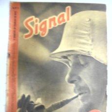 Militaria: REVISTA MILITAR SIGNAL. 1ER. NUMERO DE FEBRERO DE 1942. Nº 3.. Lote 167930072