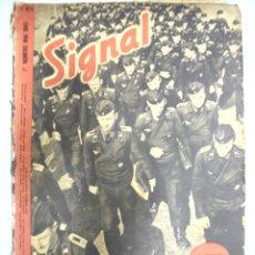Militaria: REVISTA MILITAR SIGNAL. 1ER. NUMERO MAI DE 1943. Nº 9.. Lote 167930836