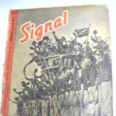 Militaria: REVISTA MILITAR SIGNAL. 1ER. NUMERO DE JULIO DE 1943. Nº 13.. Lote 167931396