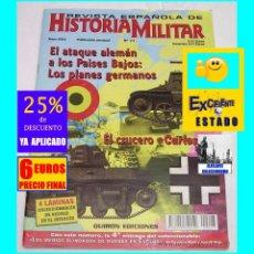 Militaria: REVISTA ESPAÑOLA DE HISTORIA MILITAR Nº 23 - CRUCERO CARLOS V - ATAQUE ALEMÁN A HOLANDA. Lote 168353548