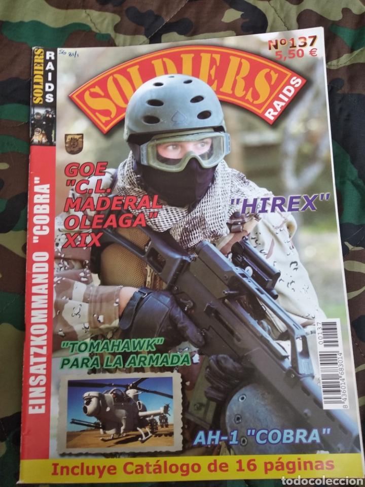 SOLDIERS RAIDS N°137 (Militar - Revistas y Periódicos Militares)
