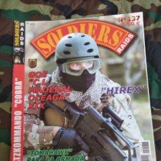 Militaria: SOLDIERS RAIDS N°137. Lote 168563093