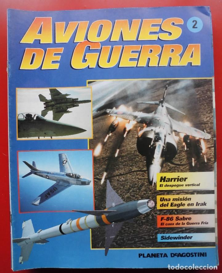 AVIONES DE GUERRA PLANETA AGOSTINI. FASCÍCULO Nº 2 (Militar - Revistas y Periódicos Militares)