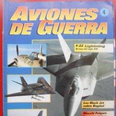 Militaria: AVIONES DE GUERRA PLANETA AGOSTINI. FASCÍCULO Nº 4. Lote 168793104