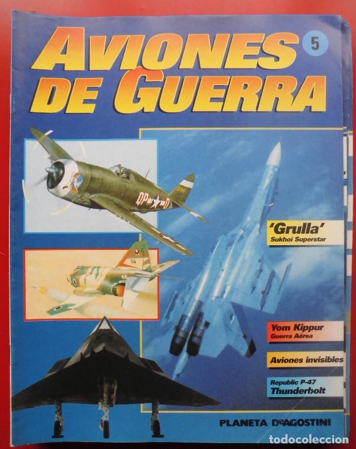 AVIONES DE GUERRA PLANETA AGOSTINI. FASCÍCULO Nº 5 (Militar - Revistas y Periódicos Militares)