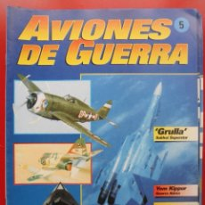 Militaria: AVIONES DE GUERRA PLANETA AGOSTINI. FASCÍCULO Nº 5. Lote 168793456