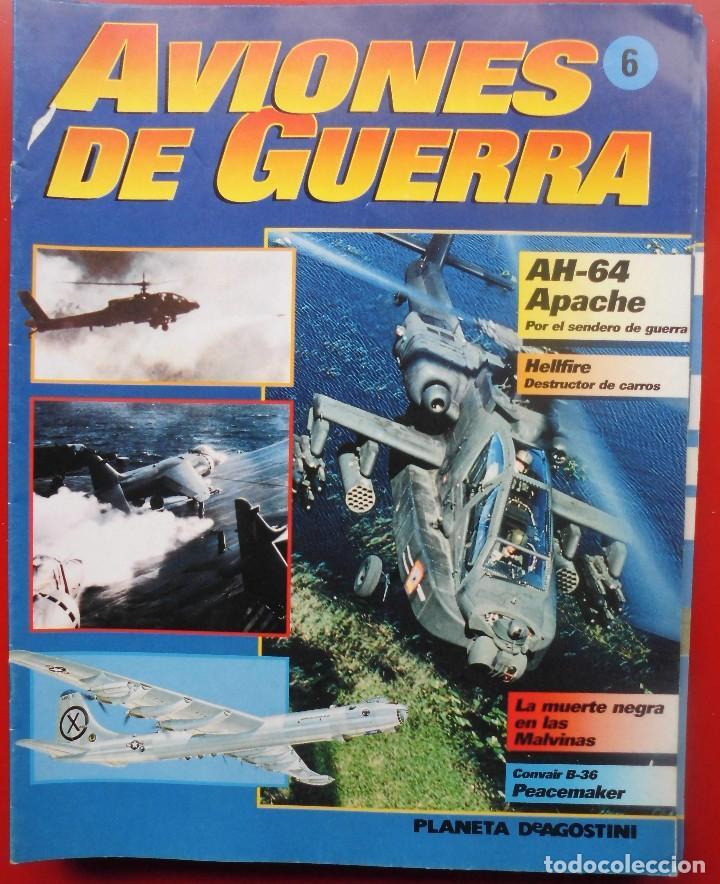 AVIONES DE GUERRA PLANETA AGOSTINI. FASCÍCULO Nº 6 (Militar - Revistas y Periódicos Militares)
